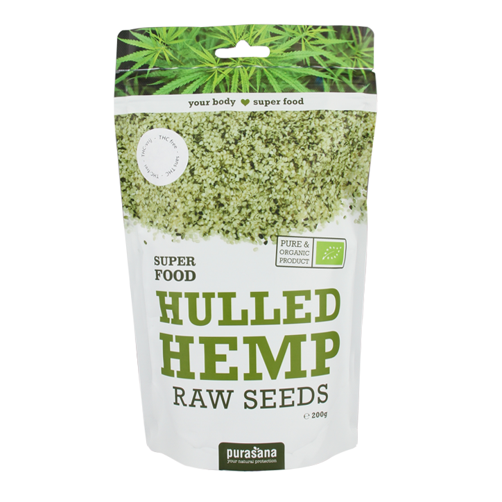 Purasana Hemp Seeds Raw Bio (200gr)