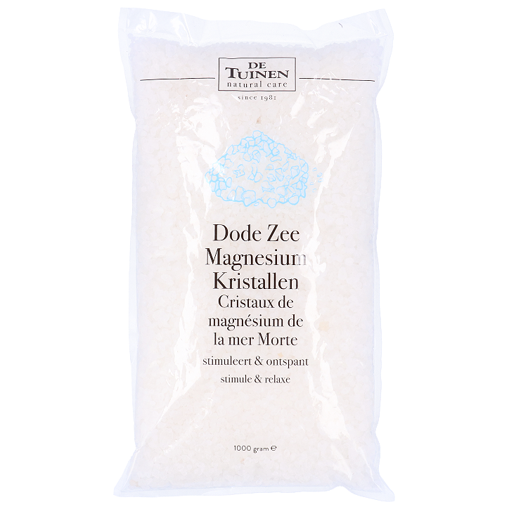 De Tuinen Dode Zee Magnesium Kristallen (1kg)