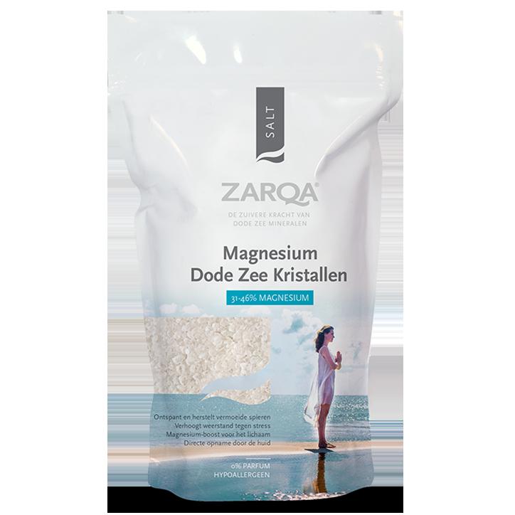 Zarqa Pure Dead Sea Magnesium Kristallen