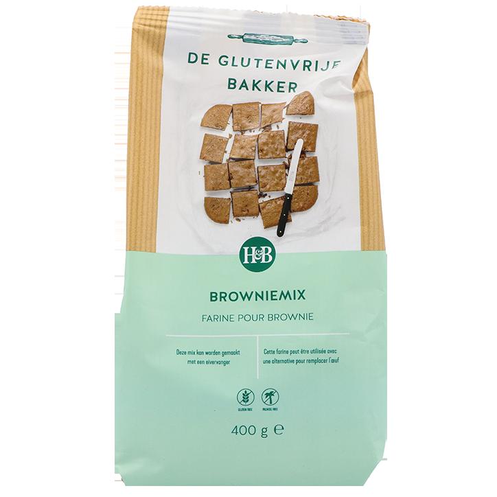 De Glutenvrije Bakker Browniemix (400gr)
