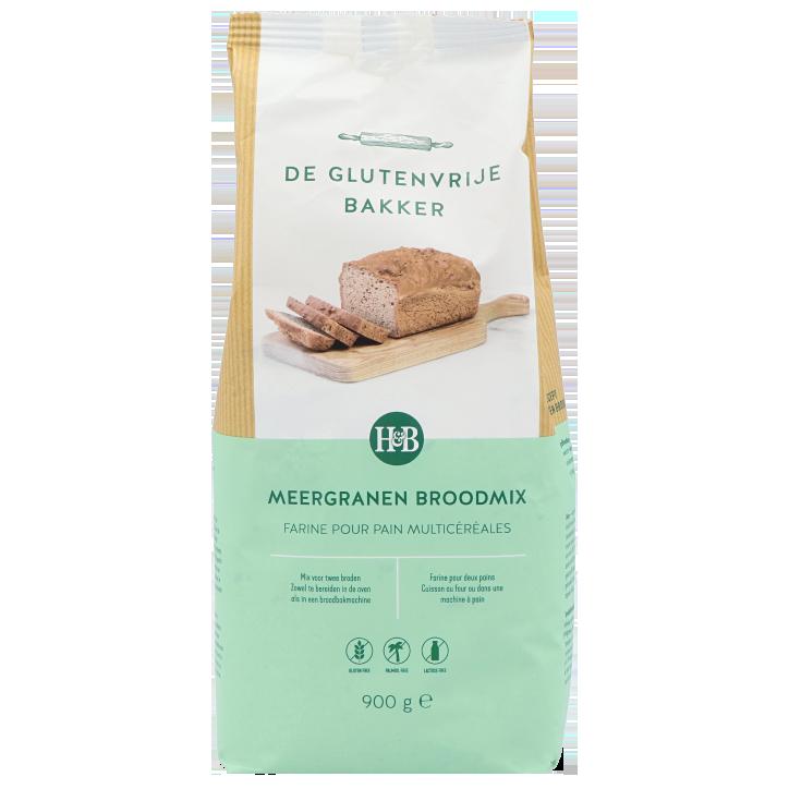 De Glutenvrije Bakker Farine pour Pain Multicéréales