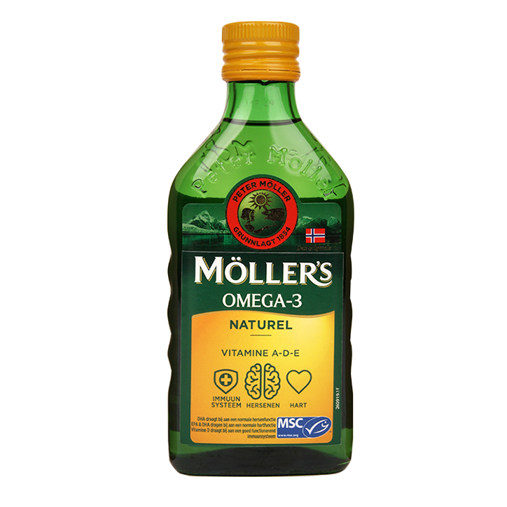 Möllers Levertraan Naturel