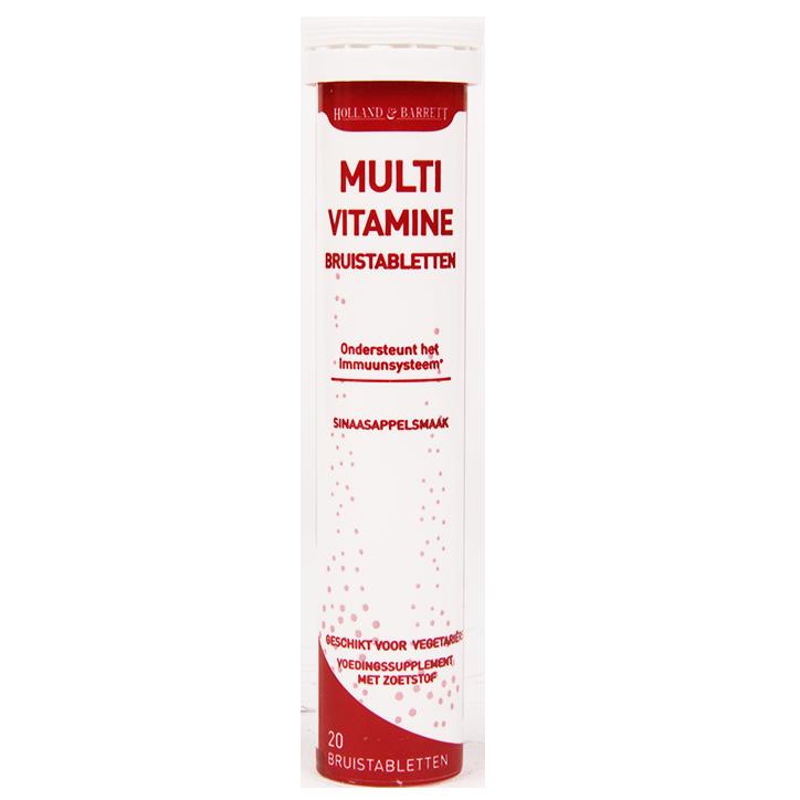 Holland & Barrett Multivitamine Bruistabletten Sinaasappel (20 Tabletten)