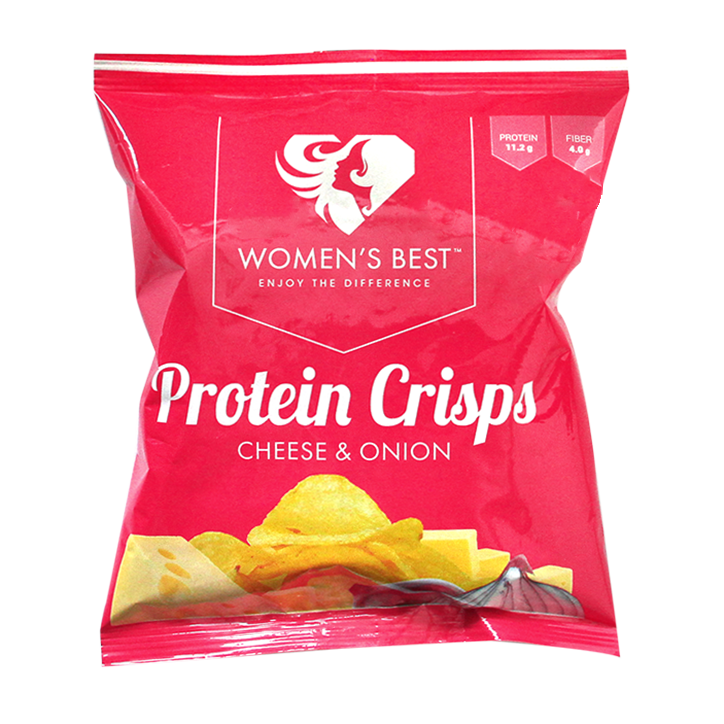 Women's Best Protein Crisps Cheese Onion 25g