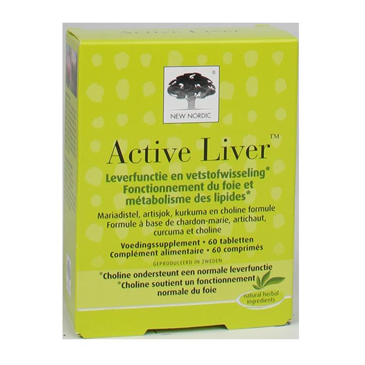 New Nordic Active Liver (60 Tabletten)