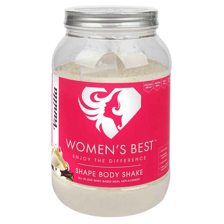 Women's Best Shape Body Shake Vanilla 750g