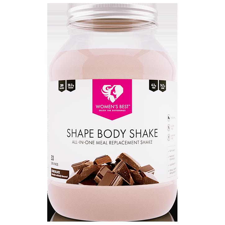 Women's Best Shape Body Shake Chocolate 750g