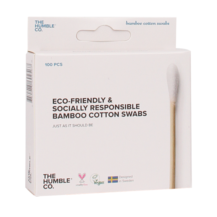 The Humble Co Bamboo Cotton Swabs