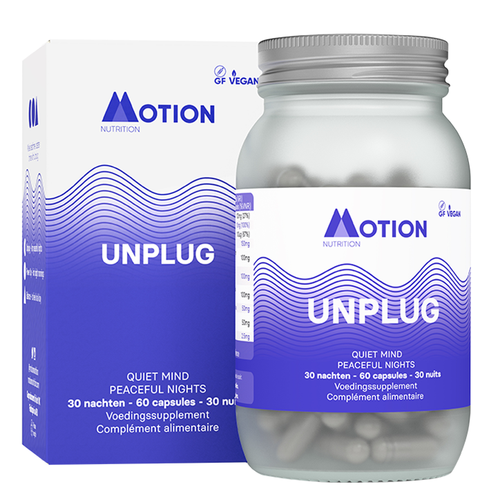 Motion Nutrition Night Time Unplug (60 Capsules)
