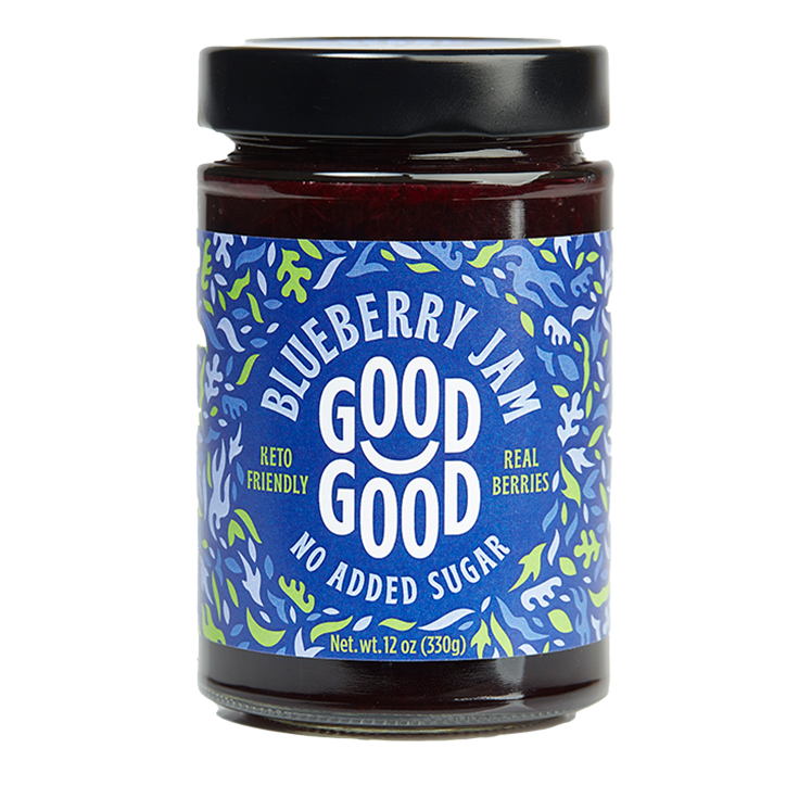 Good Good Sweet Jam Blueberry Met Stevia (330gr)
