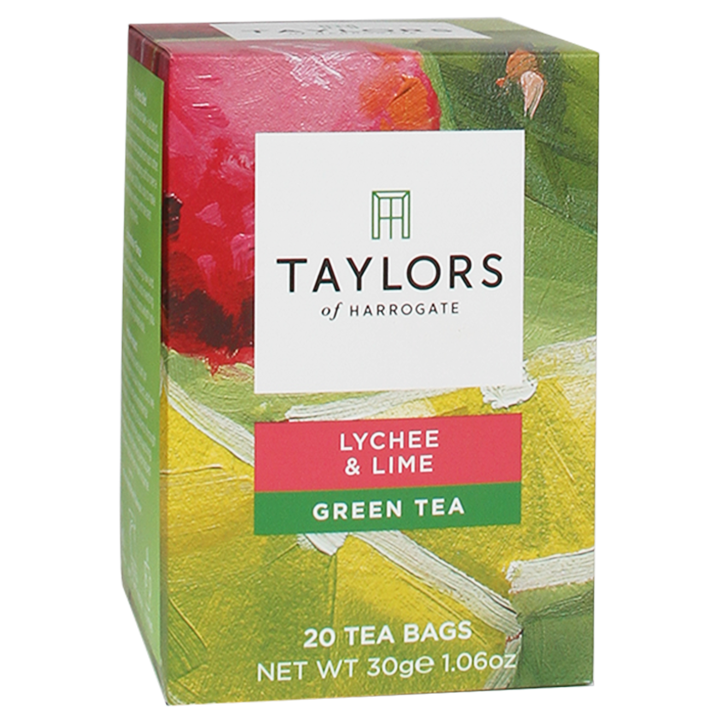 Taylors Of Harrogate Lychee & Lime Green Tea (20 Theezakjes)