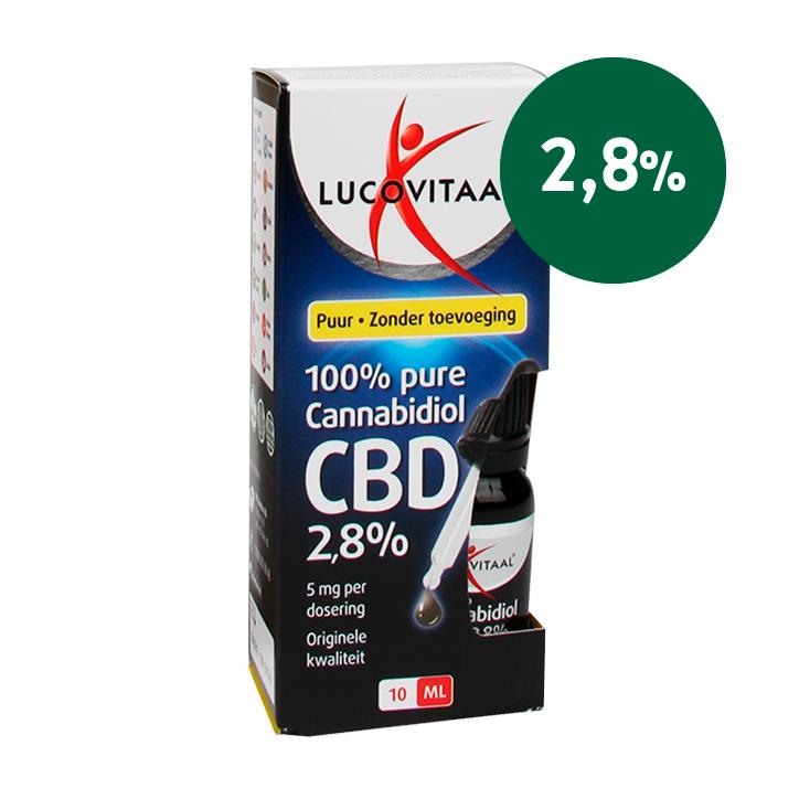 Lucovitaal CBD Olie, 2.8% (10ml)