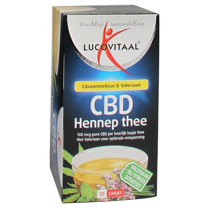 Lucovitaal CBD Hennep Thee