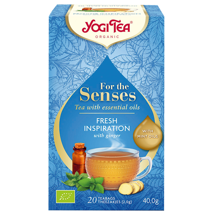 Yogi Tea For The Senses Pure Freshness Bio (20 Theezakjes)