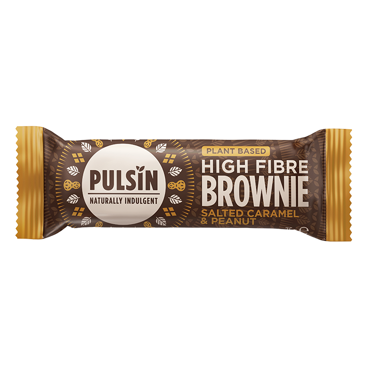 Pulsin Salted Caramel Brownie 35g