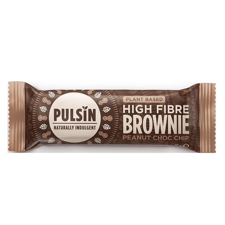 Pulsin Peanut Choc Brownie 35g
