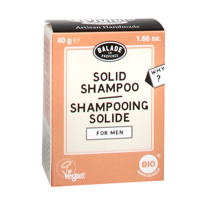 Balade En Provence Shampooing Solide pour Hommes (40g)