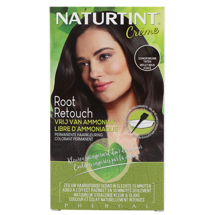 Naturtint Root Retouch Donkerbruin (45ml)