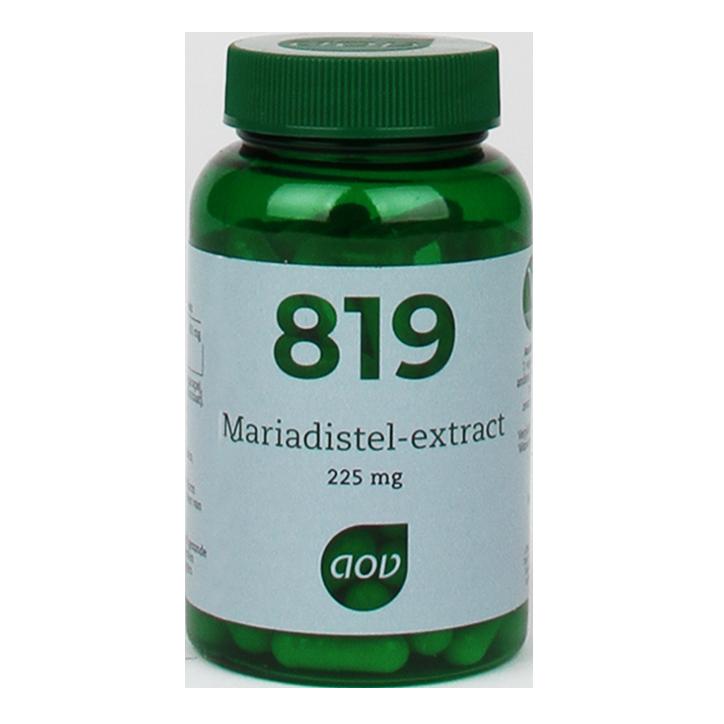 AOV 819 Mariadistel, 225mg (90 Capsules)