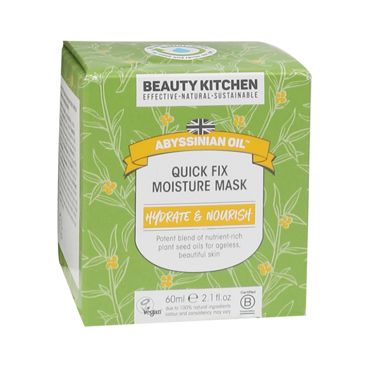 Beauty Kitchen Abyssinian Oil Quick Fix Moisture Mask (60ml)
