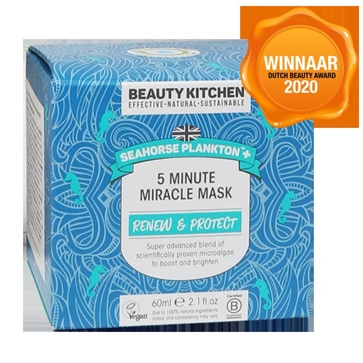 Beauty Kitchen Seahorse Plankton 5 Minute Miracle Mask