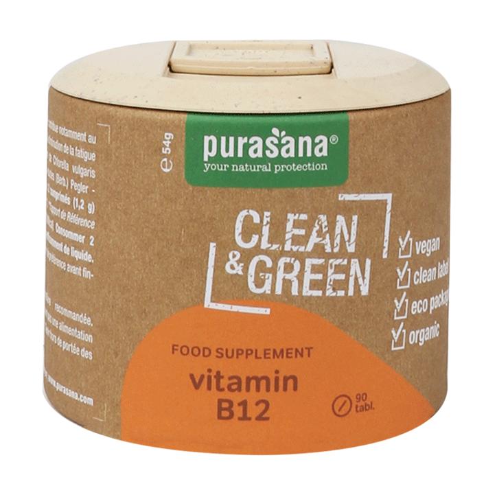 Purasana Clean & Green Vitamine B12 (90 Capsules)