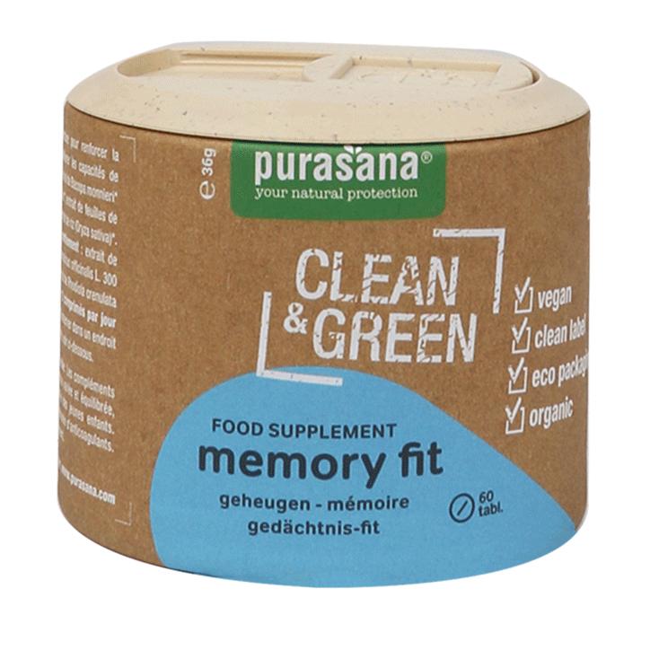 Purasana Clean & Green Memory Fit (60 Capsules)