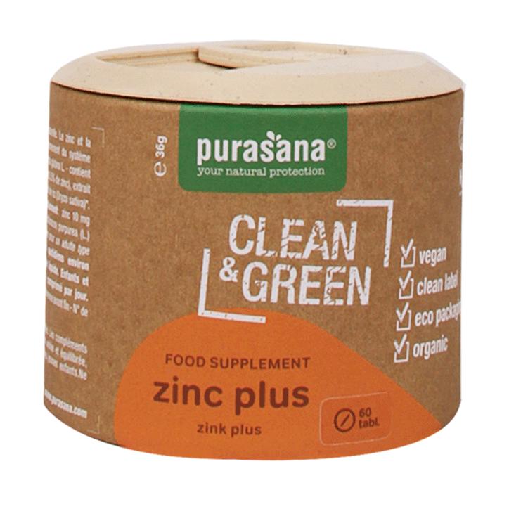 Purasana Clean & Green Zink Plus