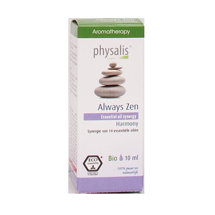 Physalis Essentiële Olie Synergie Always Zen (10ml)