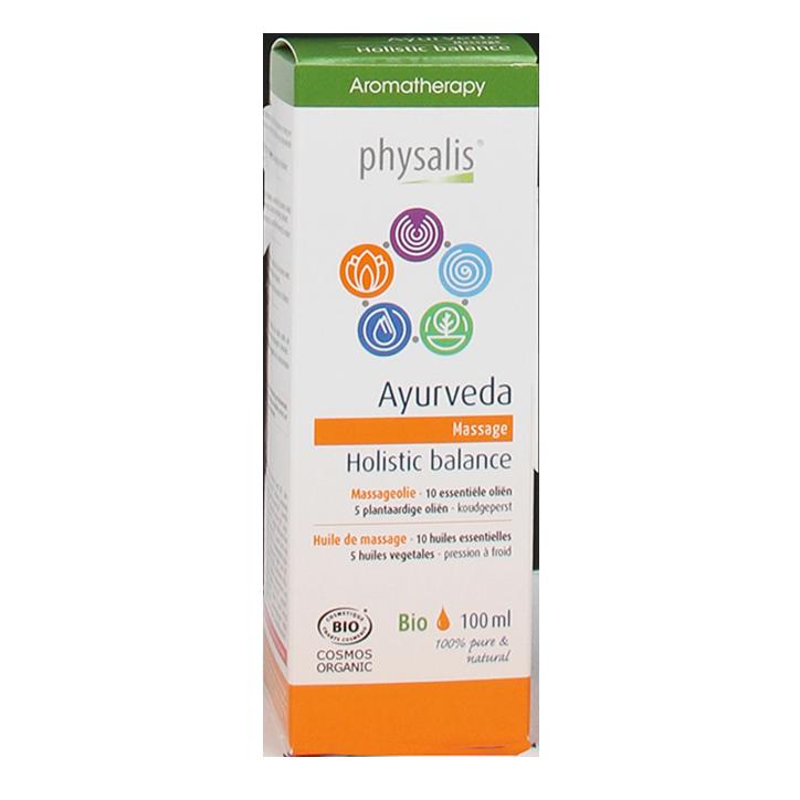 Physalis Massageolie Ayurveda