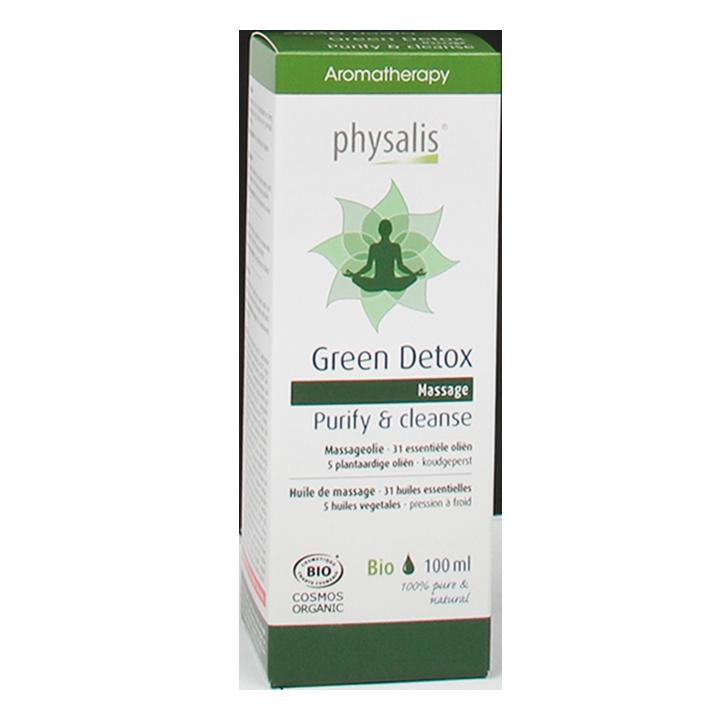Physalis Massageolie Green Detox