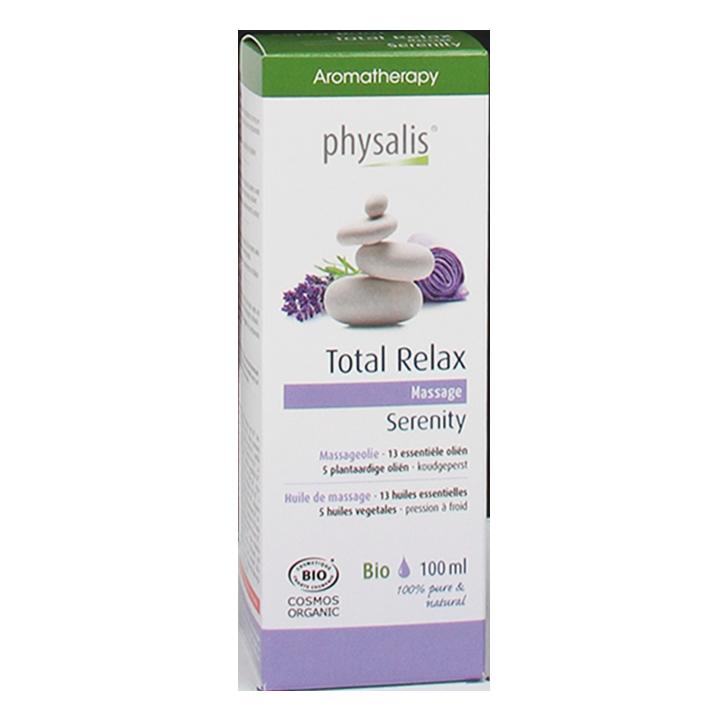 Physalis Massageolie Total Relax (100ml)