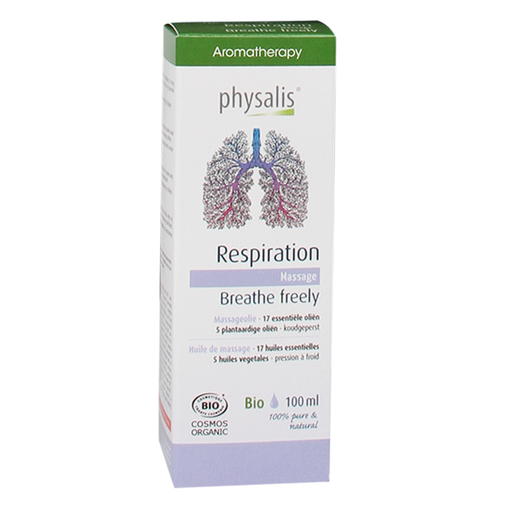 Physalis Massageolie Respiration (100ml)