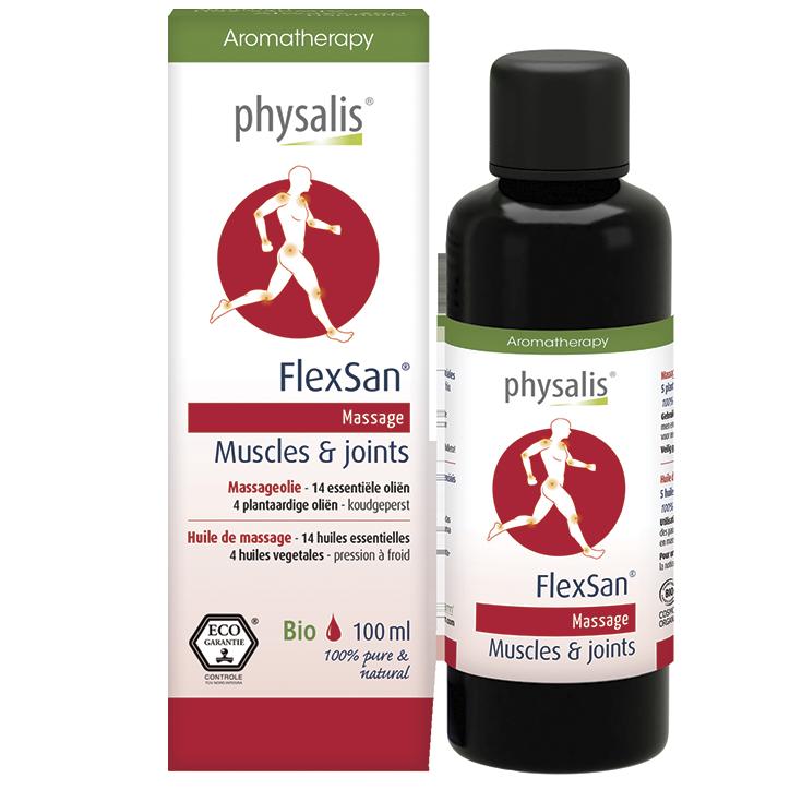 Physalis Massageolie FlexSan (100ml)