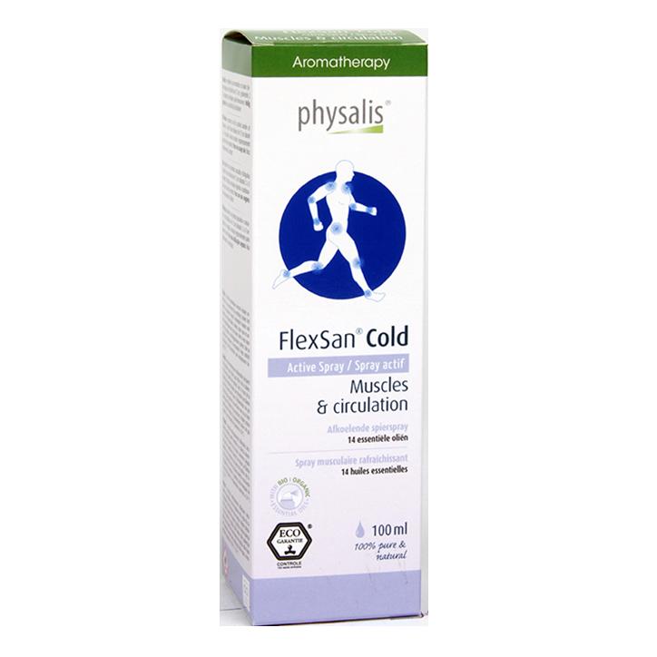 Physalis FlexSan Hot Opwarmende Spierspray (100ml)
