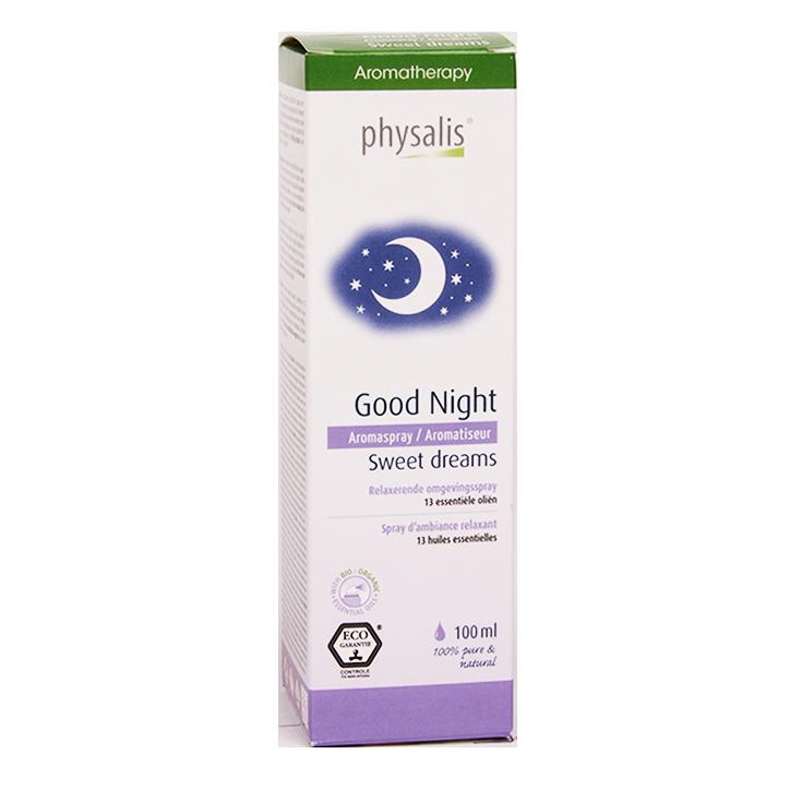Physalis Good Night Relaxerende Omgevingsspray (100ml)