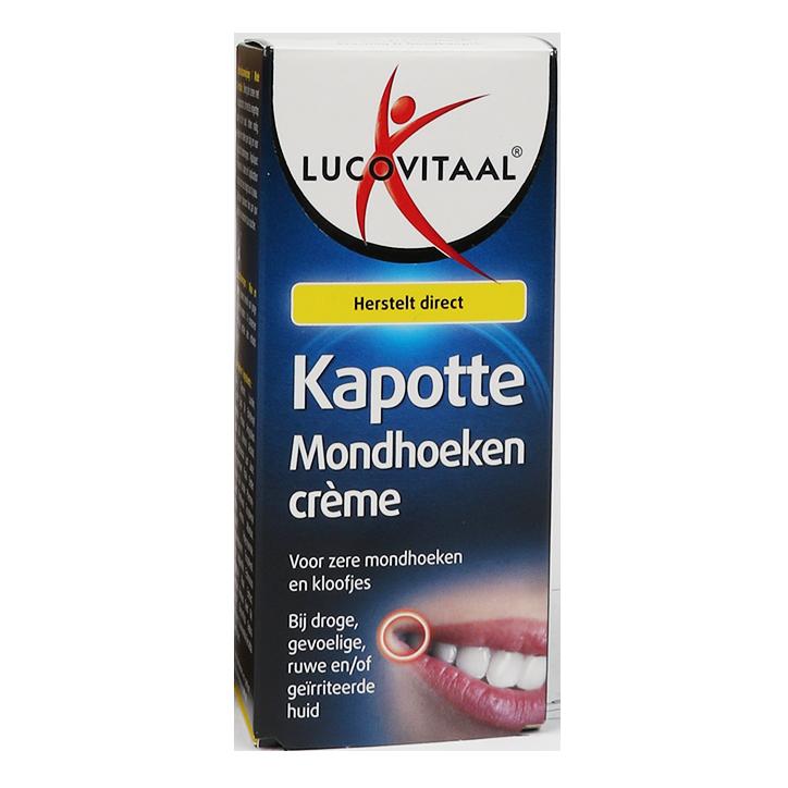 Lucovitaal Kapotte Mondhoeken Crème (15ml)
