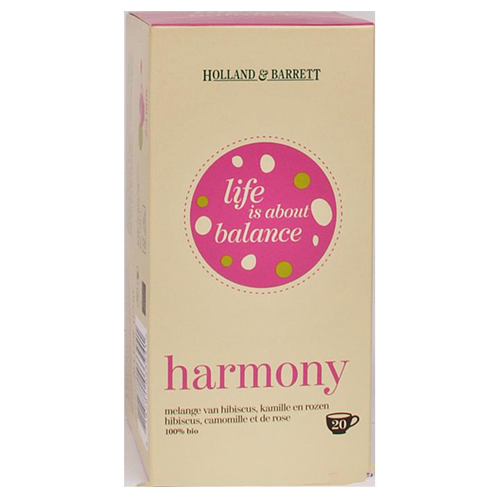 Holland & Barrett Tisane harmony bio