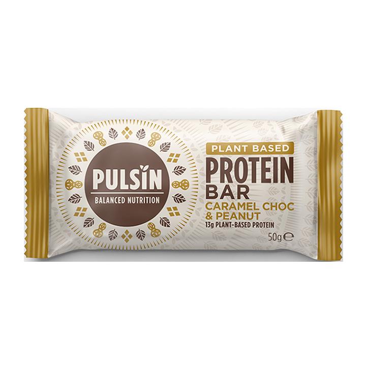 Pulsin Protein Booster Caramel Choc & Peanut (50gr)