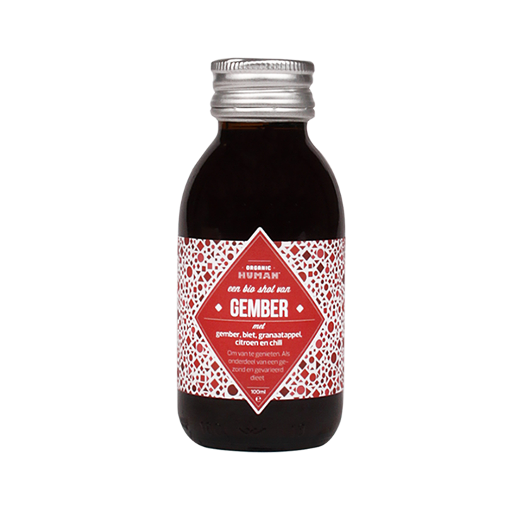 Organic Human Energy Shot Gember Bio (100ml)