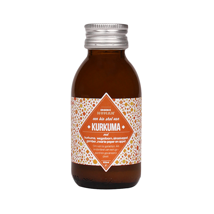 Organic Human Energy Shot Kurkuma (100ml)