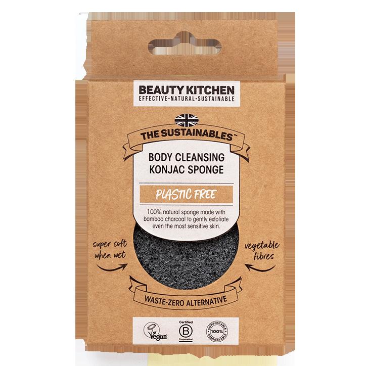 Beauty Kitchen Éponge de Konjac Sans Parfum