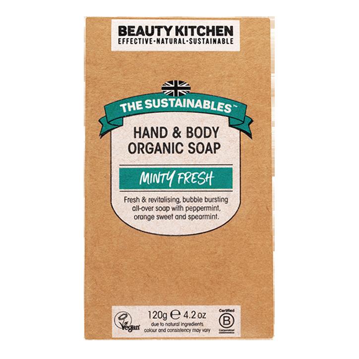 Beauty Kitchen Minty Fresh Soap Bar (120gr)