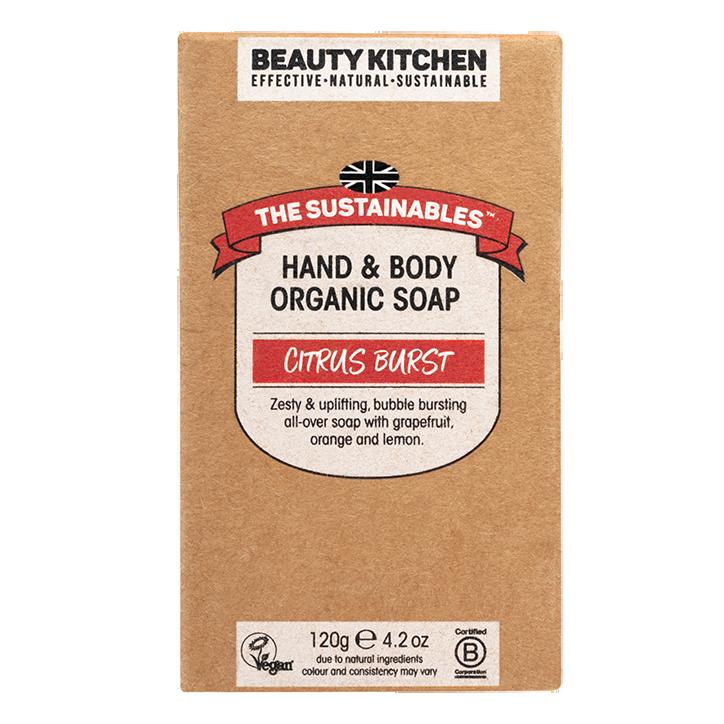 Beauty Kitchen Citrus Burst Soap Bar (120gr)
