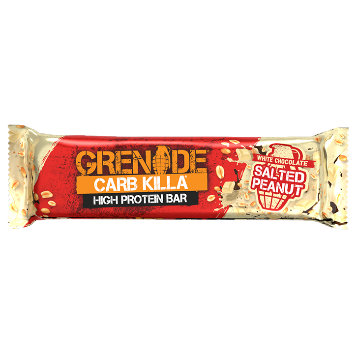 Grenade Carb Killa White Salted Peanut Reep (60gr)