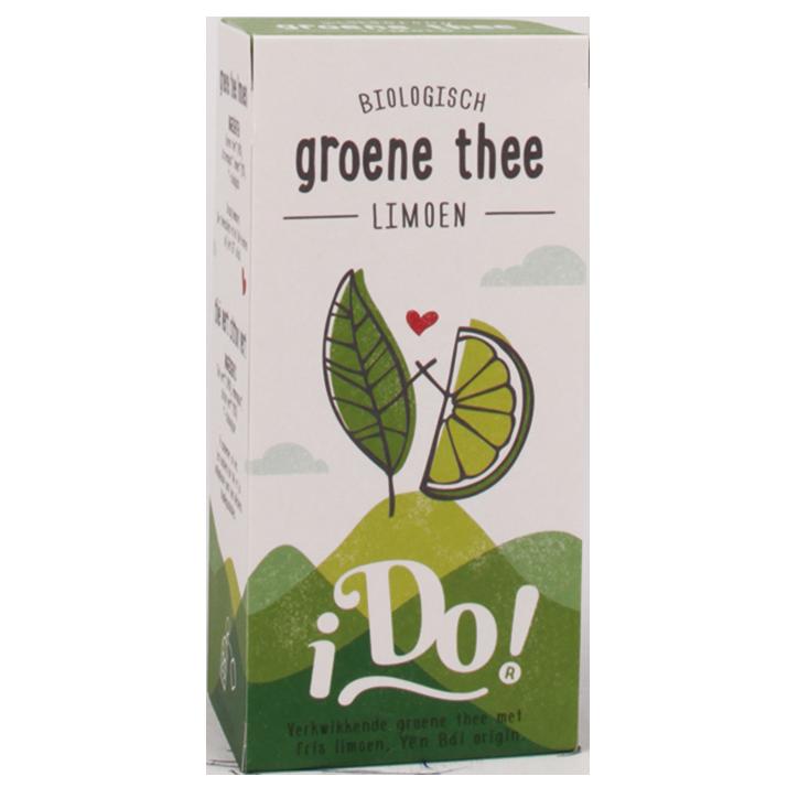 iDo! Groene Thee Limoen (20 Theezakjes)