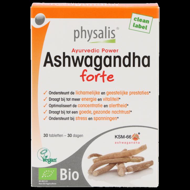 Physalis Ashwagandha Forte (30 Comprimés)