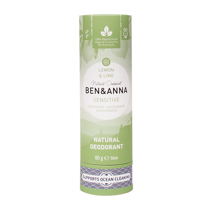 Ben & Anna Deodorant Stick Sensitive Lemon Lime