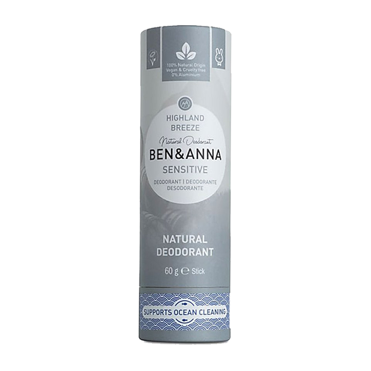Ben & Anna Deodorant Stick Sensitive Highland Breeze (60gr)