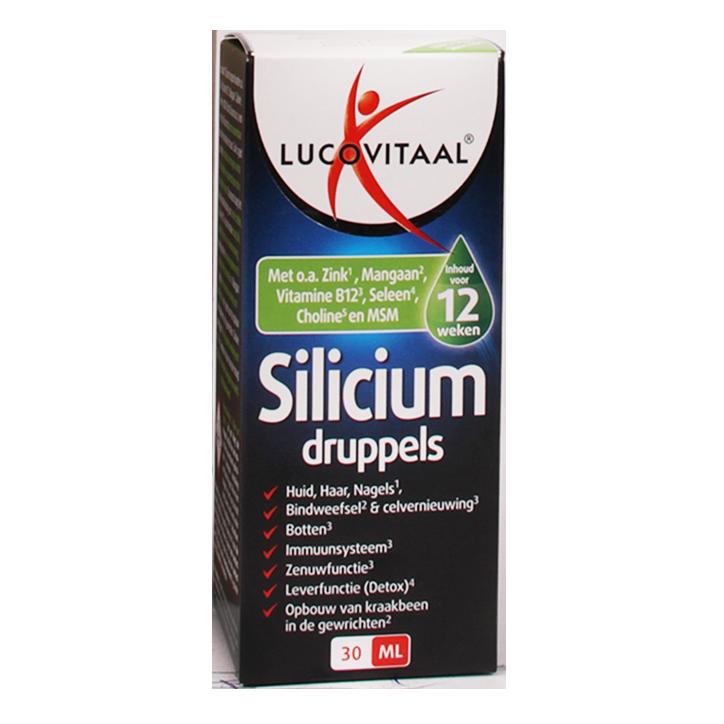 Lucovitaal Silicium Druppels (30ml)